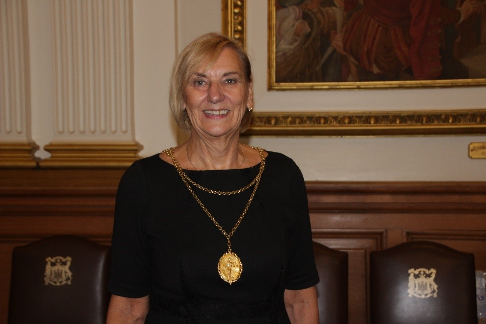 Depute Lord Provost, Joan Griffiths MBE